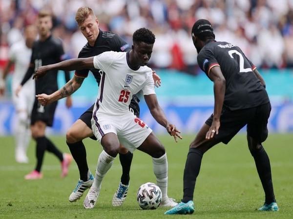Arsenal star Bukayo Saka (Photo/ Bukayo Saka Twitter)