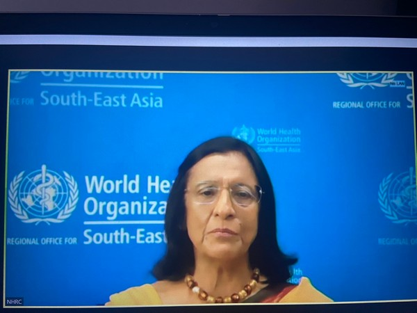 Regional Director, WHO South-East Asia, Dr Poonam Khetrapal Singh (Photo/ANI)
