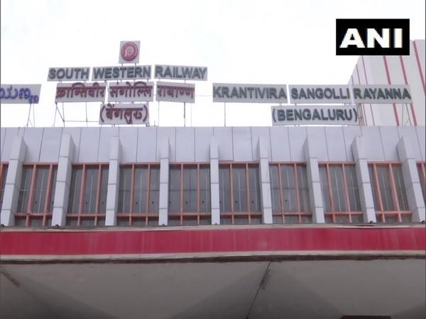 A visual from KSR Bengaluru Railway Station (Photo/ANI)