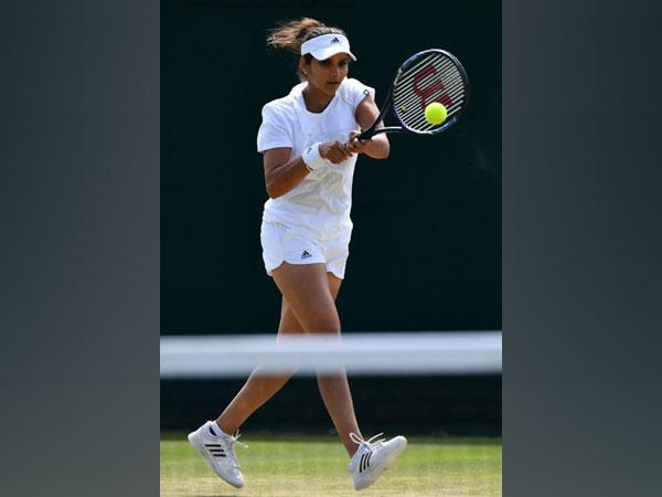 India tennis player Sania Mirza (Photo/ SAI Media Twitter)