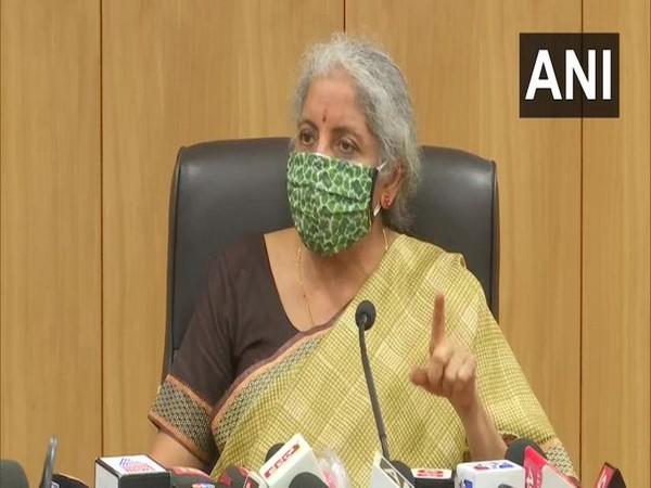 Union finance minister Nirmala Sitharaman. (Photo/ANI)