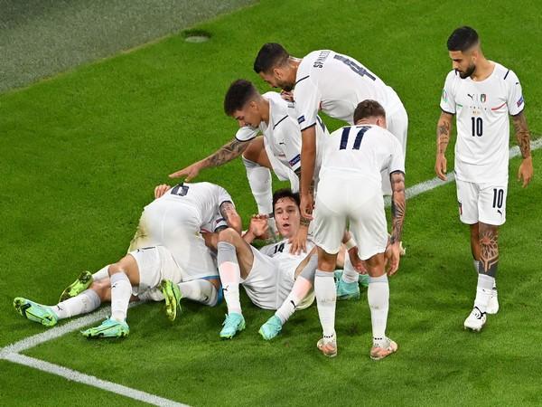 Italy defeat Belgium to enter semifinals (Photo/ UEFA Euro 2020 Twitter)
