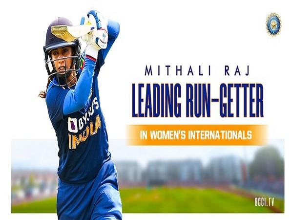 India ODI skipper Mithali Raj (Image: BCCI)