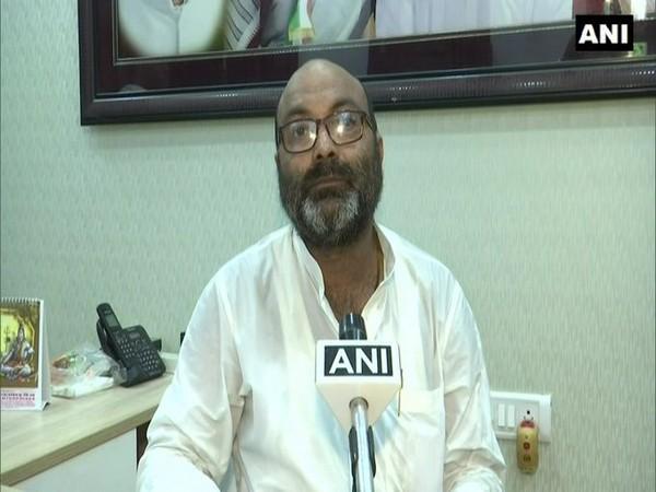 Congress Uttar Pradesh Chief Ajay Kumar Lallu in conversation with ANI. (Photo/ANI)