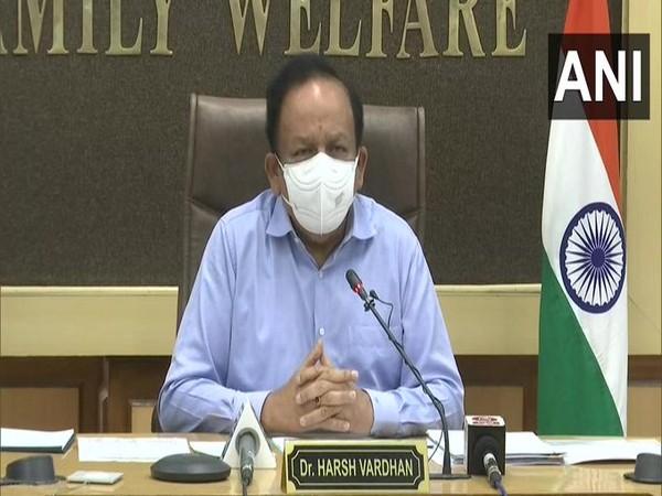 Union Health Minister Dr Harsh Vardhan (File Photo/ANI)