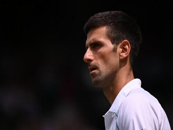 World number one Novak Djokovic (Photo/ Wimbledon Twitter)