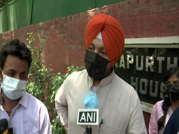 Congress MP Ravneet Singh Bittu (Photo/ANI)