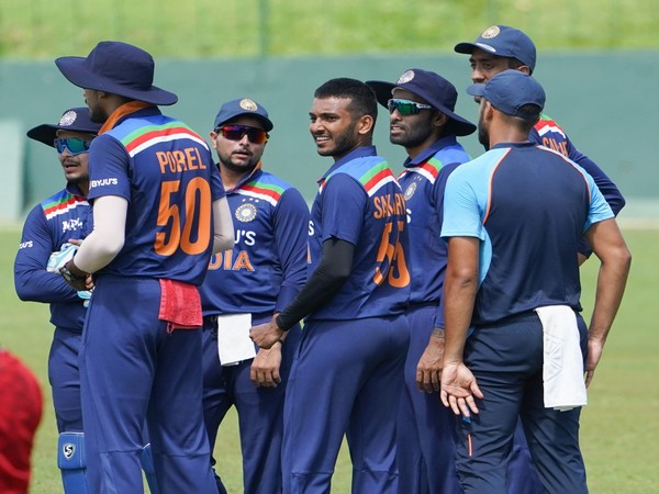 Snapshot from intra-squad game on Wednesday (Photo/ BCCI Twitter)