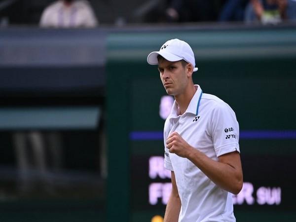 Poland's Hubert Hurkacz (Photo/ Wimbledon Twitter)