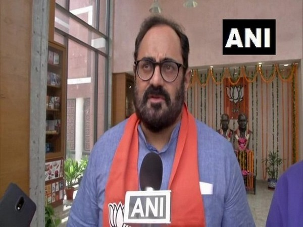 Minister of State for Electronics and Information Technology Rajeev Chandrasekhar (File/Photo)