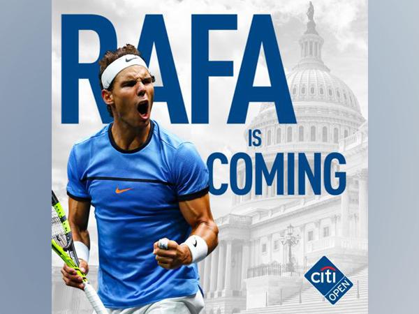 Rafael Nadal (Photo: Twitter/Citi Open)
