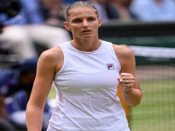 Czech Republic's Karolina Pliskova (Photo/ Wimbledon Twitter)