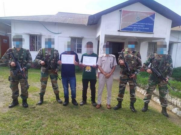 Active cadres of NSCN surrender to Assam Rifles. (Photo: Twitter @official_dgar)
