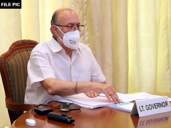 Delhi Lieutenant Governor Anil Baijal. [Photo/ANI]