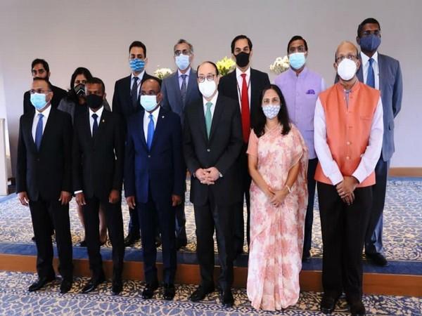 Foreign Secy Shringla meets UNGA President-elect Abdulla Shahid (Photo Credit: Twitter)