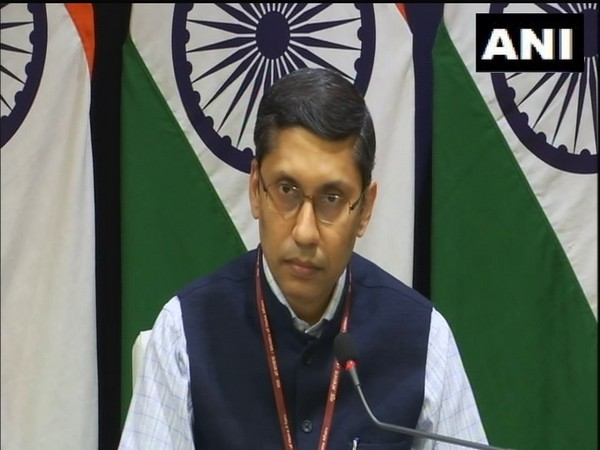 External Affairs Ministry spokesperson Arindam Bagchi
