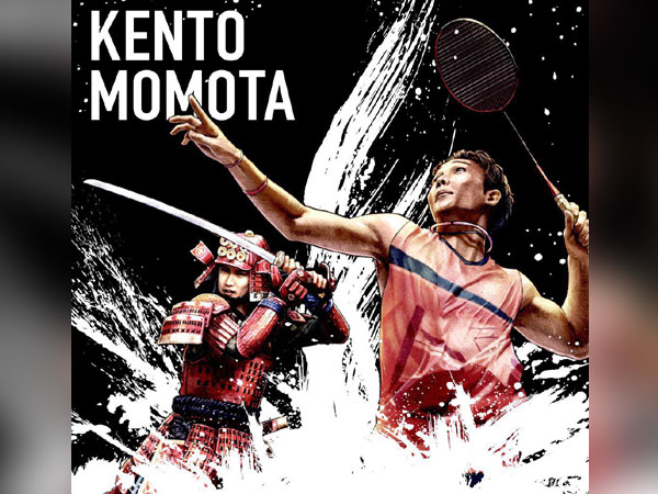 Kento Momota (Photo: Twitter/Kento Momota)