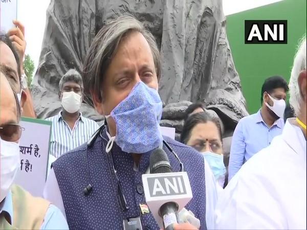 Congress MP Shashi Tharoor (Photo/ANI)