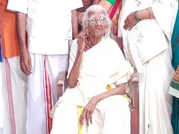 Bhageerathi Amma (Photo/ANI)