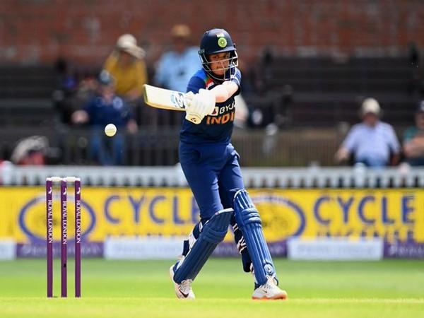 India batter Shafali Verma (Photo/ ICC Twitter)