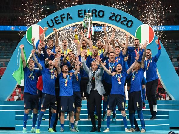 Euro 2020 winners Italy (Photo/ UEFA Euro 2020 Twitter)