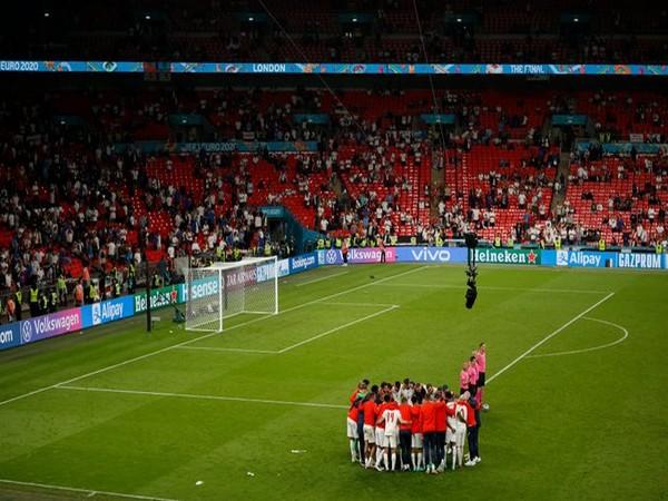 England football team (Photo/ Jordon Henderson Twitter)