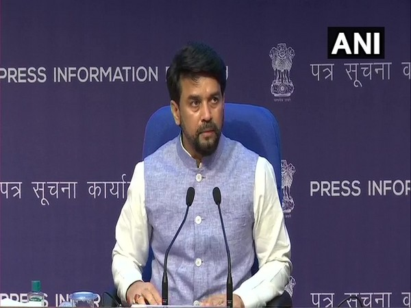 Union Minister Anurag Thakur briefed media about Cabinet decisions (Photo/ANI)