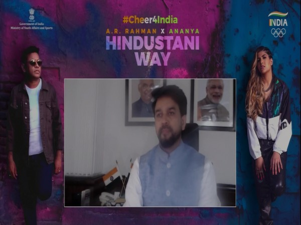 Team India cheer song launched ahead of Tokyo Olympics