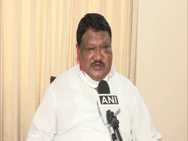 Jual Oram, Chairman, Parliamentary Standing Committee on Defence in conversation with ANI. (Photo/ANI)