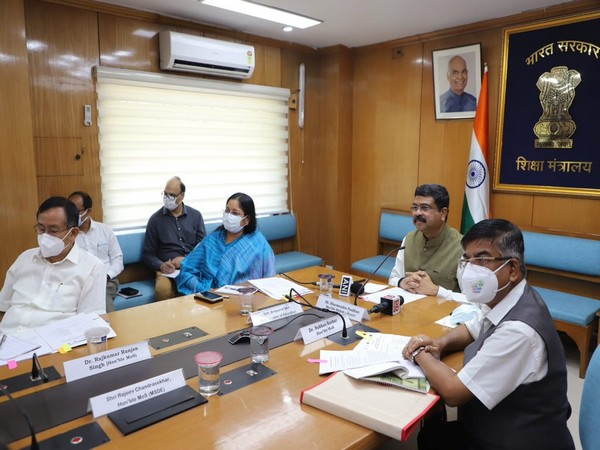 Visual of meeting attended by Union Minister Dharmendra Pradhan (Photo/PIB)