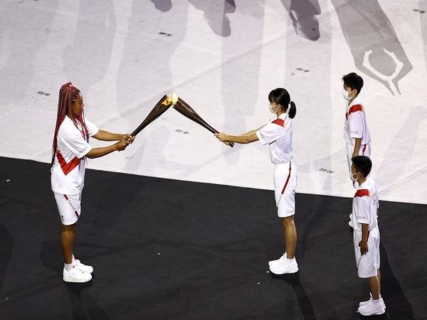 Japanese tennis star Naomi Osaka (Image: #Tokyo2020's Twitter)