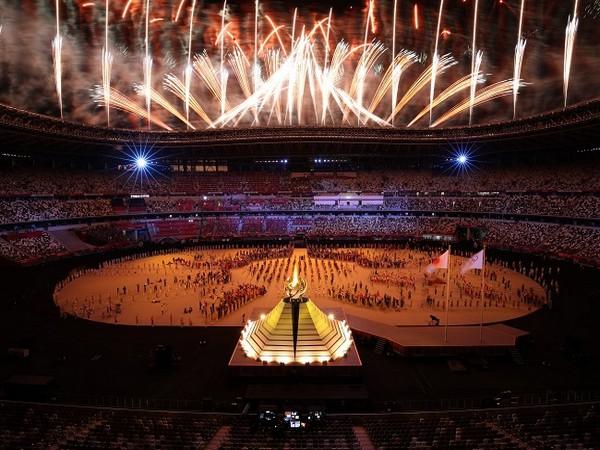 Tokyo Olympics opening ceremony  (Photo/ Tokyo 2020 Twitter)