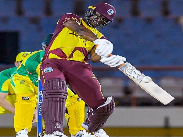 West Indies batsman Evin Lewis (Image: ICC)