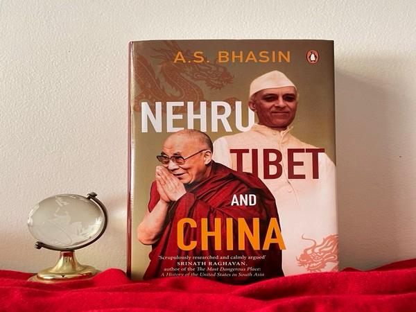 Nehru, Tibet and China, book by Avtar Singh Bhasin (Photo: Penguin India's Twitter handle)