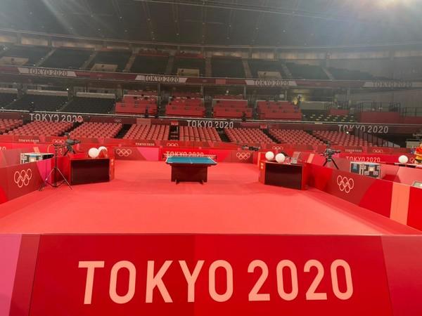 Tokyo Metropolitan Gym (Photo: Twitter/ Table Tennis Federation of India)