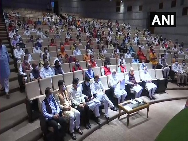 Visual from BJP's parliamentary party meet (File image)