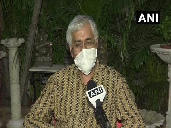 Chhattisgarh Health Minister TS Singh Deo speaking to ANI in Raipur on Tuesday. [Photo/ANI]