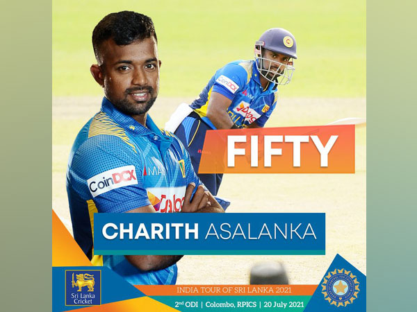 Charith Asalanka (Photo/ Sri Lanka Cricket Twitter)
