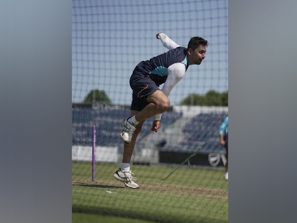 Fast bowler Avesh Khan (Image: BCCI)