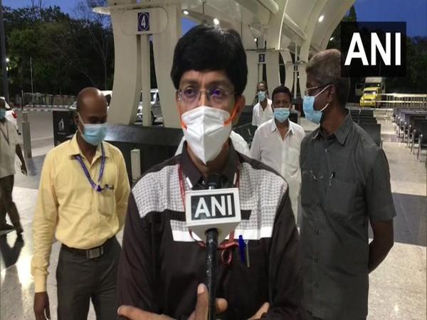 Tamil Nadu Health Secretary J Radhakrishna speaking to ANI in Chennai on Tuesday. [Photo/ANI]