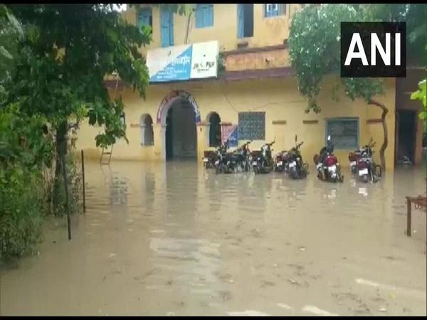 Visual of Chhipabarod Police Station, Rajasthan (Photo/ANI)