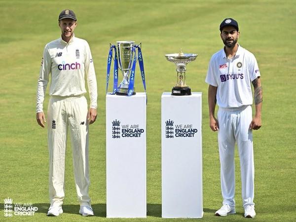 Joe Root and Virat Kohli (Photo/ England Cricket Twitter)