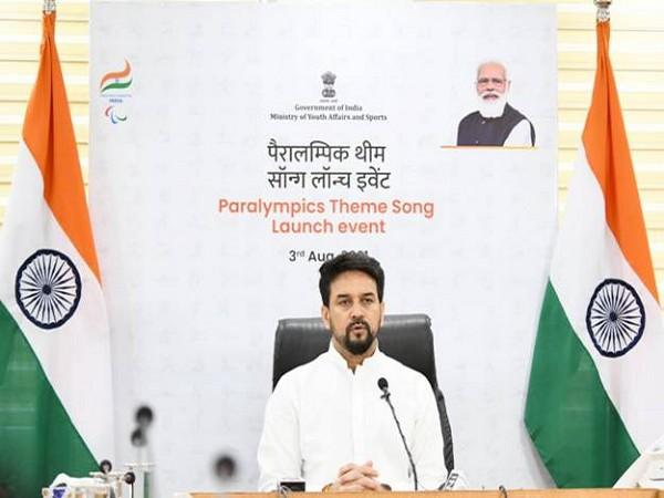 Sports Minister Anurag Thakur (Image: PIBIndia)