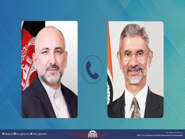 Afghanistan Foreign Minister Mohammad Haneef Atmar called on his Indian counterpart Dr S Jaishankar (Photo Credit: Twitter)