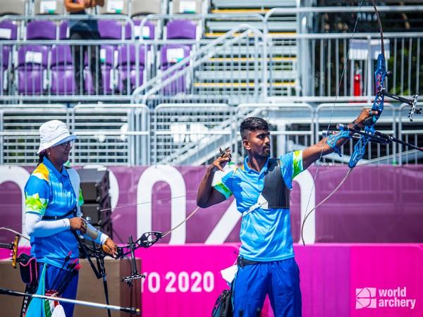 Pair of Deepika and Pravin (Photo/ World Archery Twitter)