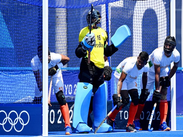 Team India in action against NZ. (Photo/ Hockey India twitter)