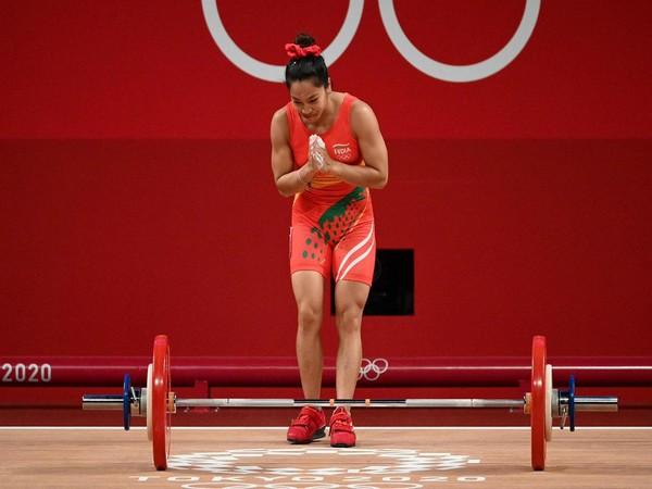 Weightlifter Mirabai Chanu (Photo/ Sachin Tendulkar Twitter)