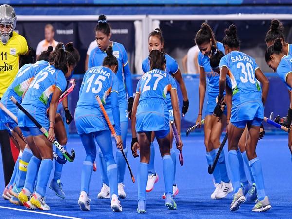 India women's hockey team. (Photo/ Hockey India twitter)