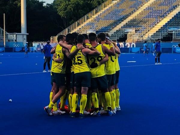 Australia Hockey Team (Photo/ Australia Olympic Team Twitter)