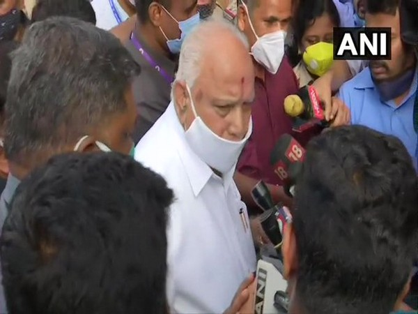 Karnataka Chief Minister BS Yediyurappa. (Photo/ANI)